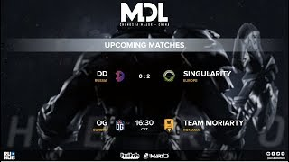🔴[RU-LIVE] DOTA 2 Матч OG vs Moriarty MDL Major