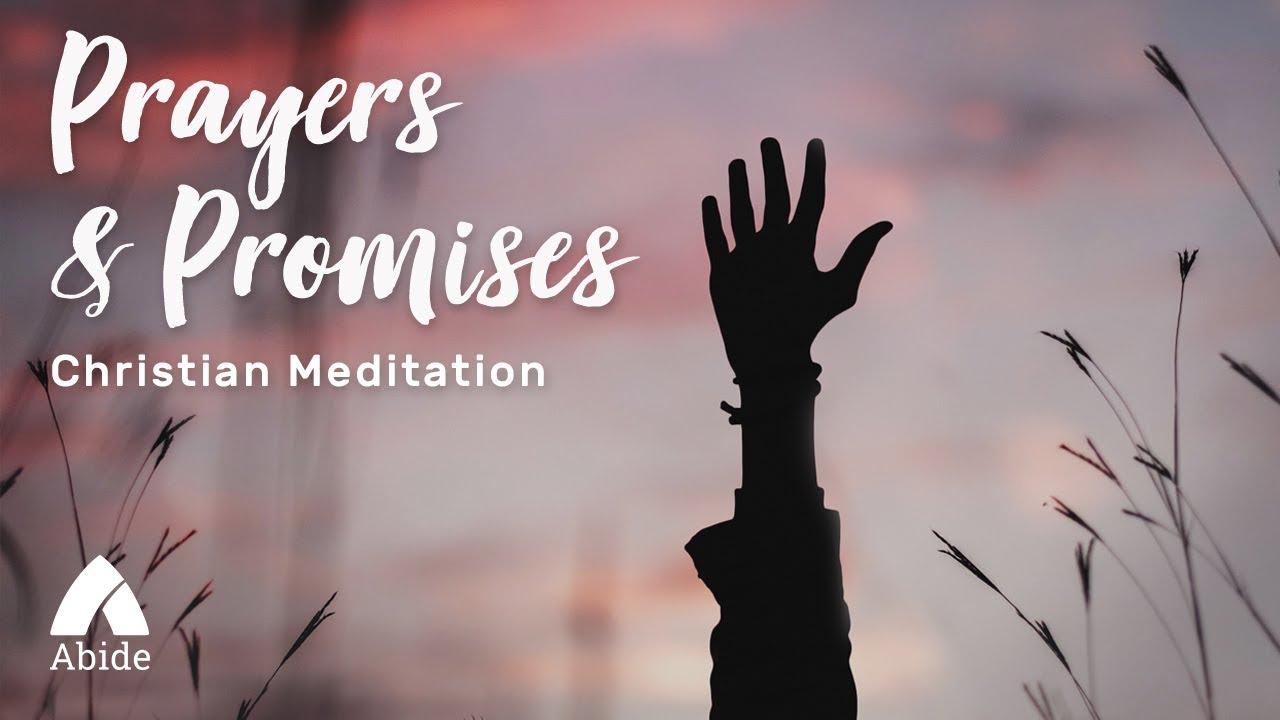 Sleep Meditation: Prayers & Promises (2 Hours) - YouTube