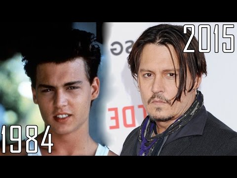 Johnny Depp (1984-2015) all movies list from 1984! How much has changed? Before and Now!