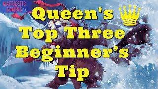 Auto Chess Best Beginner's Guide! Top 3 Queen Tips to New players! (4/4) | Mattjestic Gaming