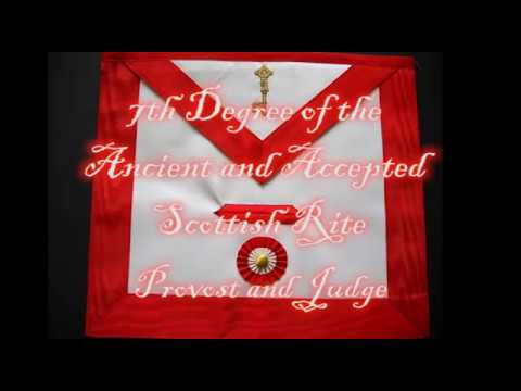 7th Degree of the Ancient and Accepted Scottish Rite - Provost and Judge