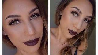 Vampy Fall Makeup Tutorial Thumbnail