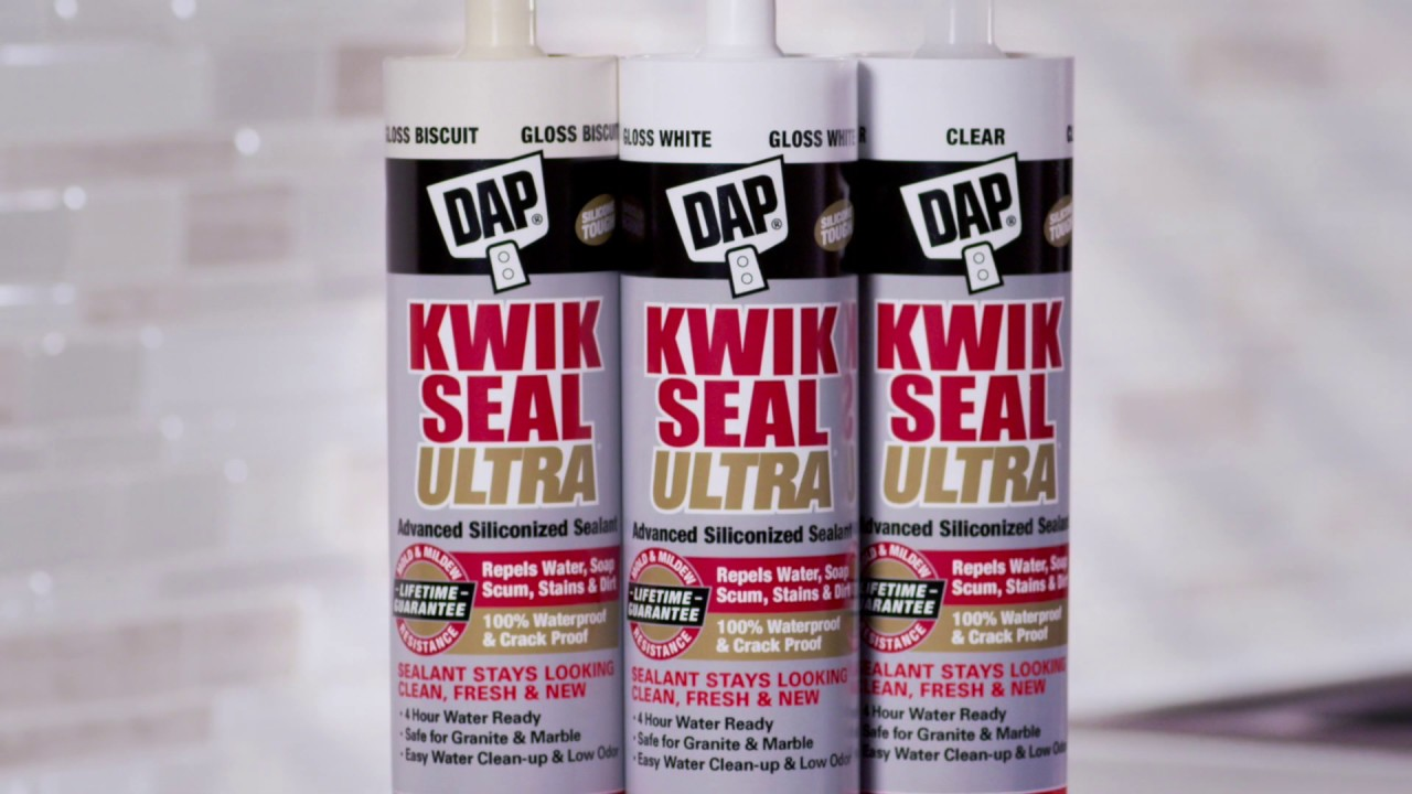 KWIK SEAL ULTRA Premium Siliconized Sealant - DAP