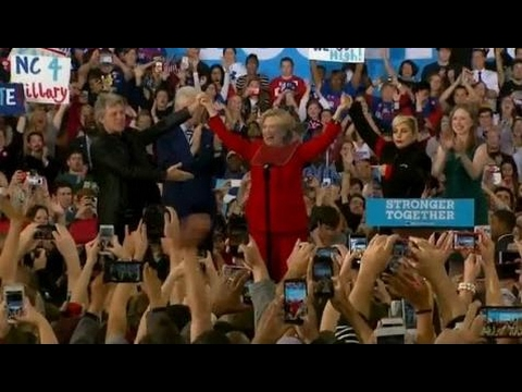 FULL SPEECH: Hillary Clinton FINAL Campaign Rally in Raleigh, North Carolina (11/7/2016)