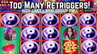 👸🏽🤳🏽🎰 HOW MANY RETRIGGERS DID WE GET BETTING $10 ON CHINA SHORES?! (LET'S WAKE UP THE VAULT!)
