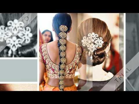 Bridal hairstyle/ India