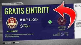 OHNE EIN SPIEL für die WEEKEND LEAGUE QUALIFIZIEREN! | FIFA 18 Fut Champions Glitch Deutsch