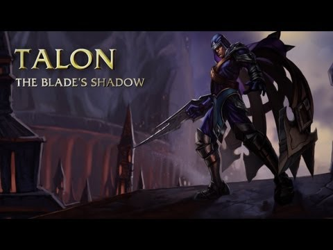 Talon: Champion Spotlight | Gameplay - League Of Legends