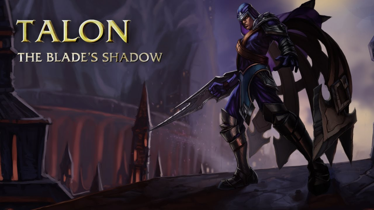talon champion spotlight gameplay league of legends youtube