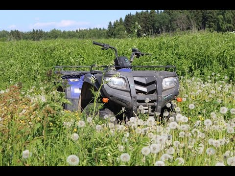 Test DRIVE BY Повидлыч [Armada ATV 250L]