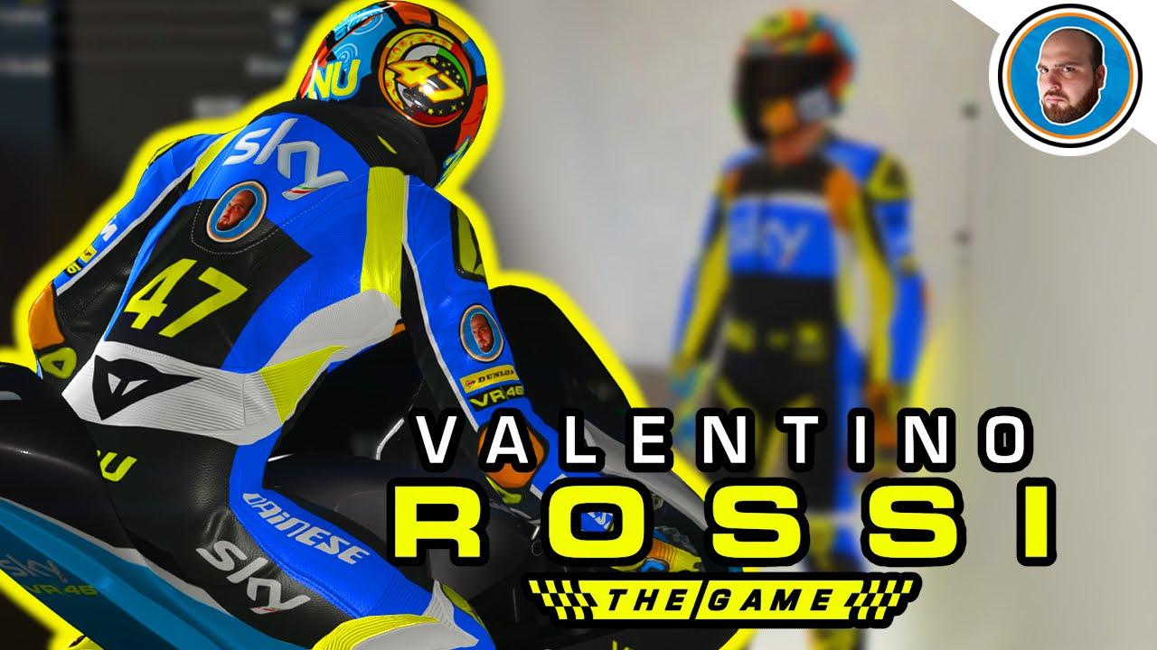 new style b0795 d75ad Tuta e Casco Epici per l'inizio di Nu - Valentino Rossi The Game | Qatar