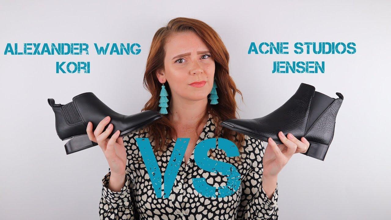 Acne Studio Jensen -VS- Alexander Wang