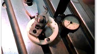Уроки фрезерования, работа с центроискателем