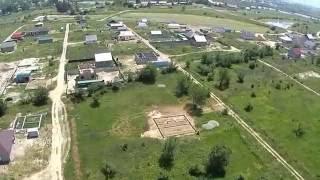 МПС Алматы. Слепой полет Phantom 2 над ПКСТ Первомайский на 200 м