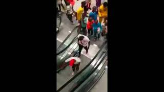 Hilarious escalator fails