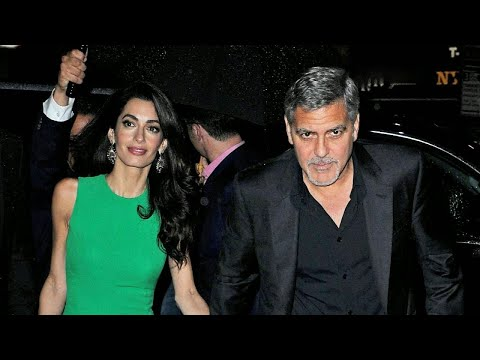 George Clooney Accident: Shocking Surveillance Video Shows Actor Being Catapulted Into the Air