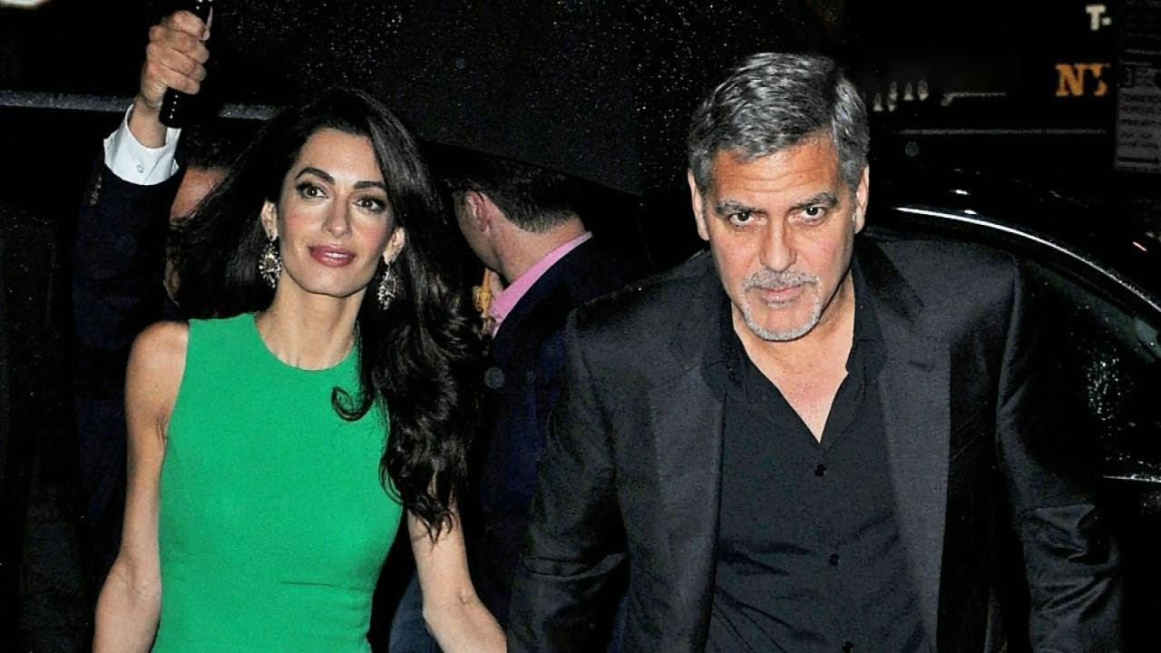 George Clooney Accident: Shocking Surveillance Video Shows ...