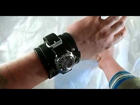 Брутальный ремешок для часов своими руками