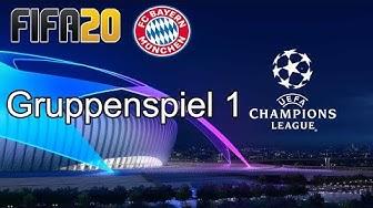 FIFA 20 - UEFA Champions League - FC Bayern München - Gruppenspiel 1