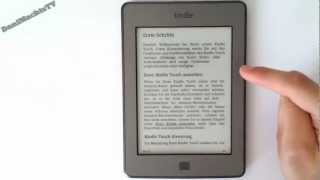 Amazon Kindle Touch 3G Review (German,HD)