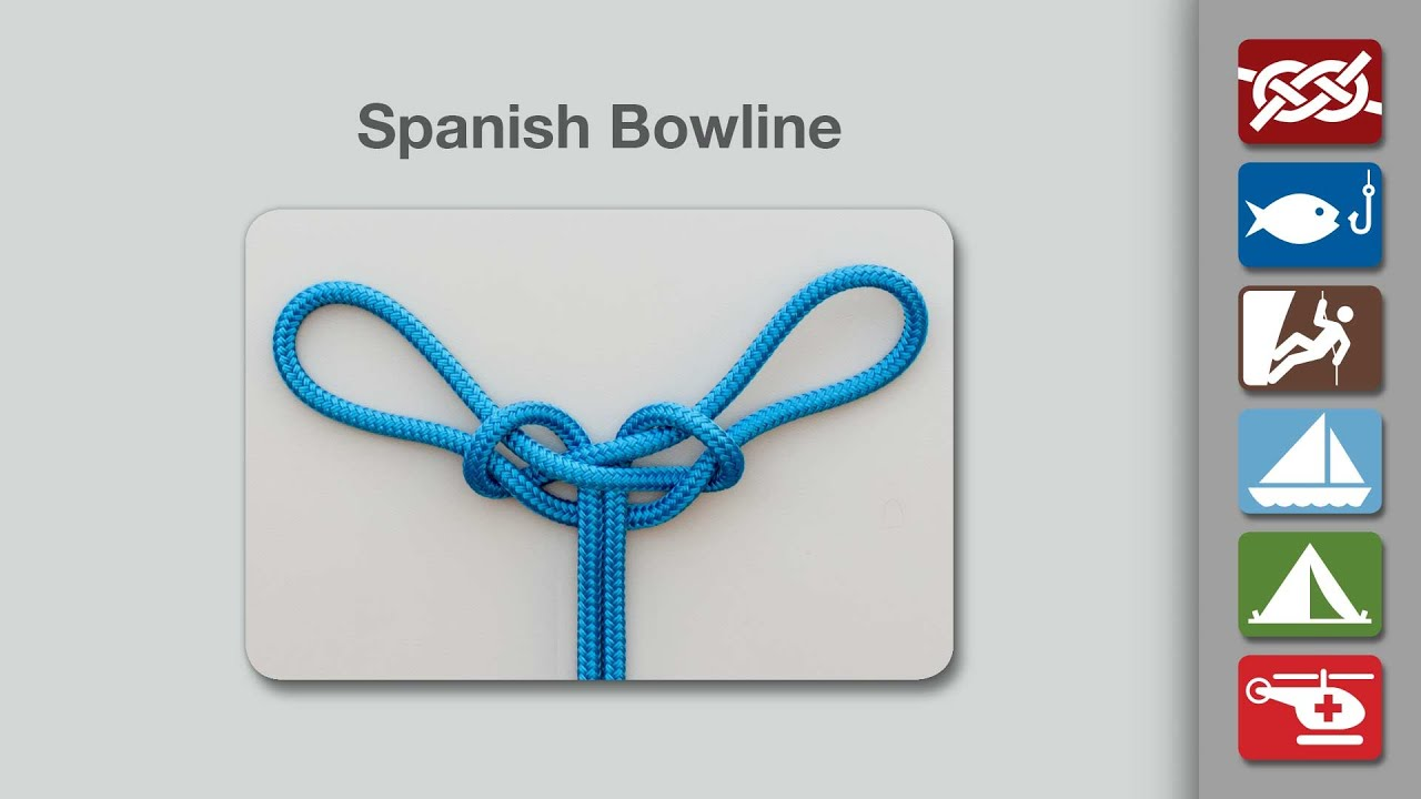 Image result for Spanish bowline
