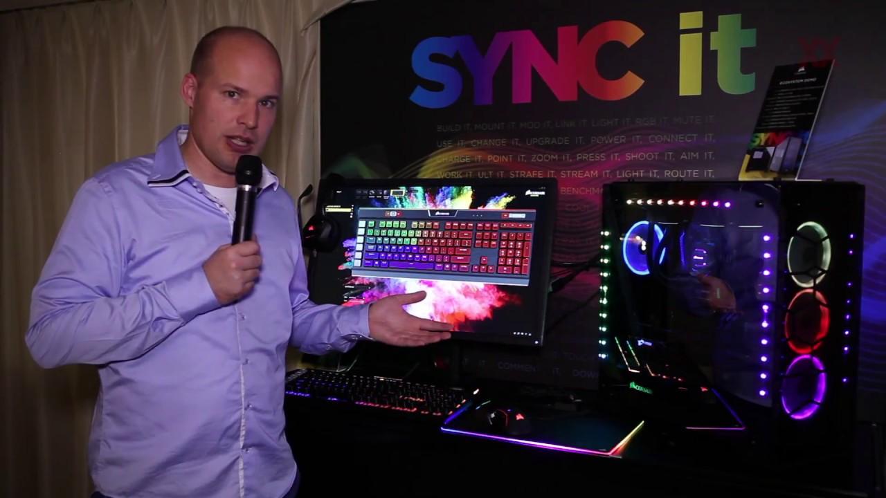 Resultado de imagen de sync it corsair