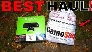 BEST!!! Gamestop Dumpster Dive Night #365