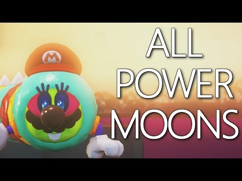 Lost Kingdom: All Power Moons Guide - Mario Odyssey