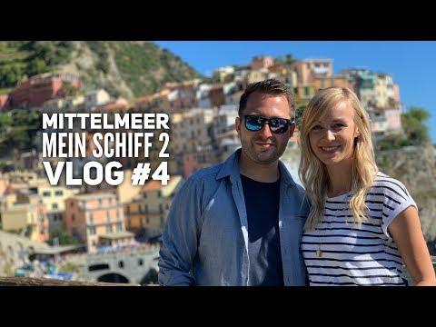 Mittelmeer mit Ibiza - Mein Schiff 2 Vlog #4: Cinque Terre
