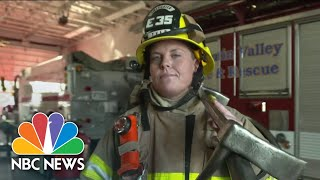 Women In Fire: Push To Recruit More Women As Firefighter Shortages Continue