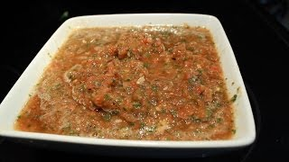 Never Buy Salsa Again ! How to make Picante Sauce Fire Roasted