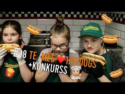 #18 Amigo Juniori | Te mums garšo hotdogi, DAUDZ hotdogi + KONKURSS