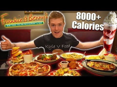 The Ultimate Frankie & Benny's Cheat Meal Challenge! | 8000+ Calories | Epic Cheat Meal