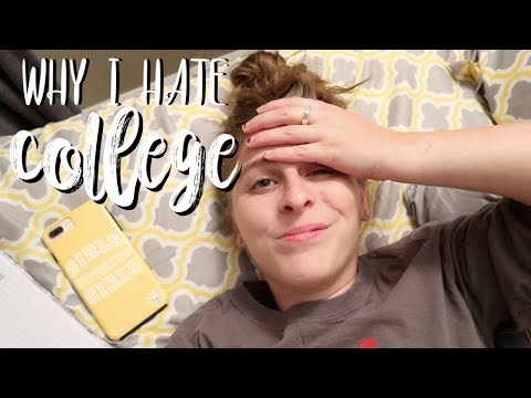 Why I HATE College & Ohio State University   Let's Talk Tuesday