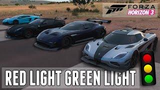 RED LIGHT - GREEN LIGHT! || Forza Horizon 3: Mini Game W/ JackUltraGamer