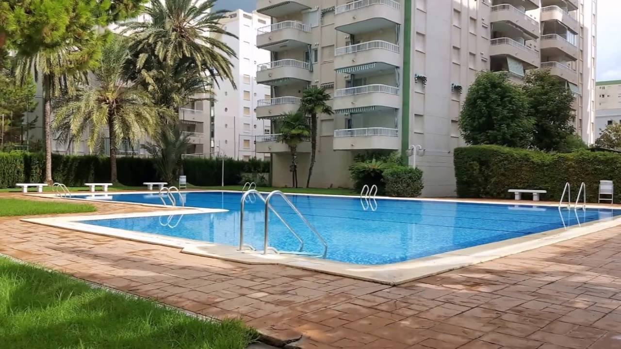 Apartamento playa de gandia edificio lanzarote youtube - Apartamentos en gandia playa ...