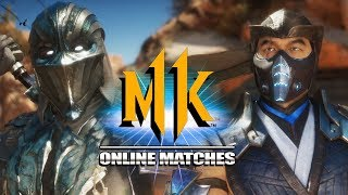 Sub-Zero Classic Vs. New: Sub-Zero - MK11 Online Ranked Matches