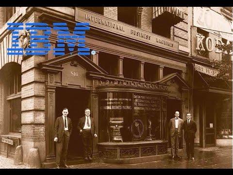 ИСТОРИЯ СОЗДАНИЯ КОМПАНИИ IBM !