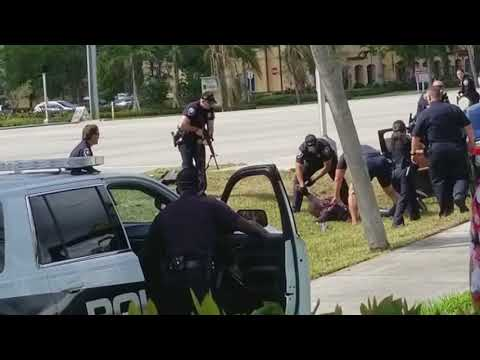 Pembroke Pines police stand off