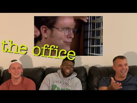The Office REACTION 3x1 Gay Witch Hunt {Reupload}