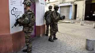 French Security Services Surround Saint Denis Apartment