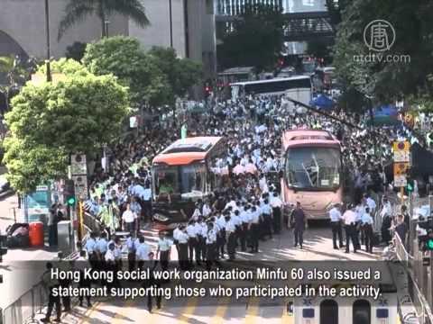 Pan-democrats Staged a Walkout in Hong Kong Parliament ...