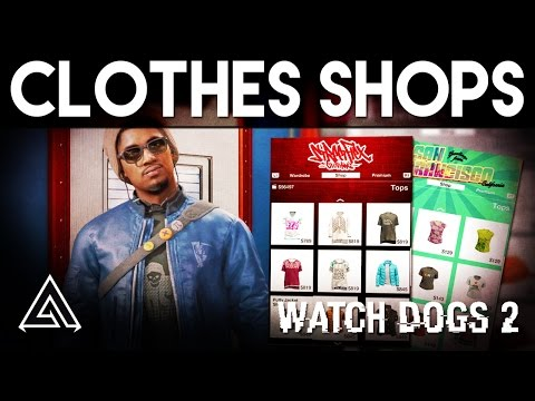 watch-dogs-2-|-customisation-&-clothes-stores
