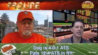 Pats/Jets, Packers/Cardinals NFL Preview + Free Pick, Dec. 27, 2015