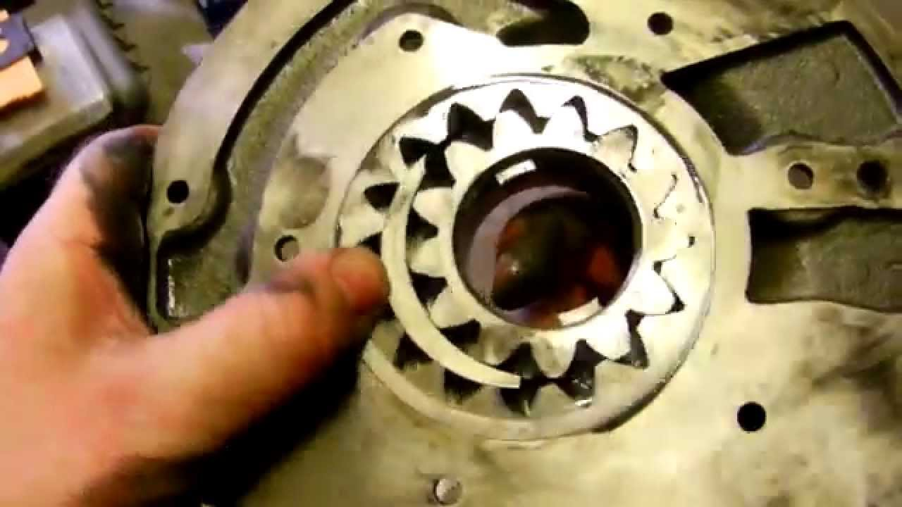 How an automatic transmission pump works