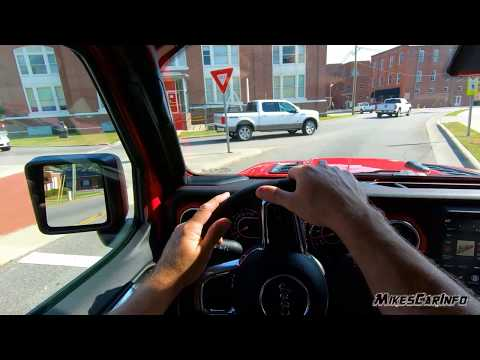 2020 Jeep Gladiator Test Drive Experience