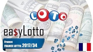 France Lotto numbers March 18 2017