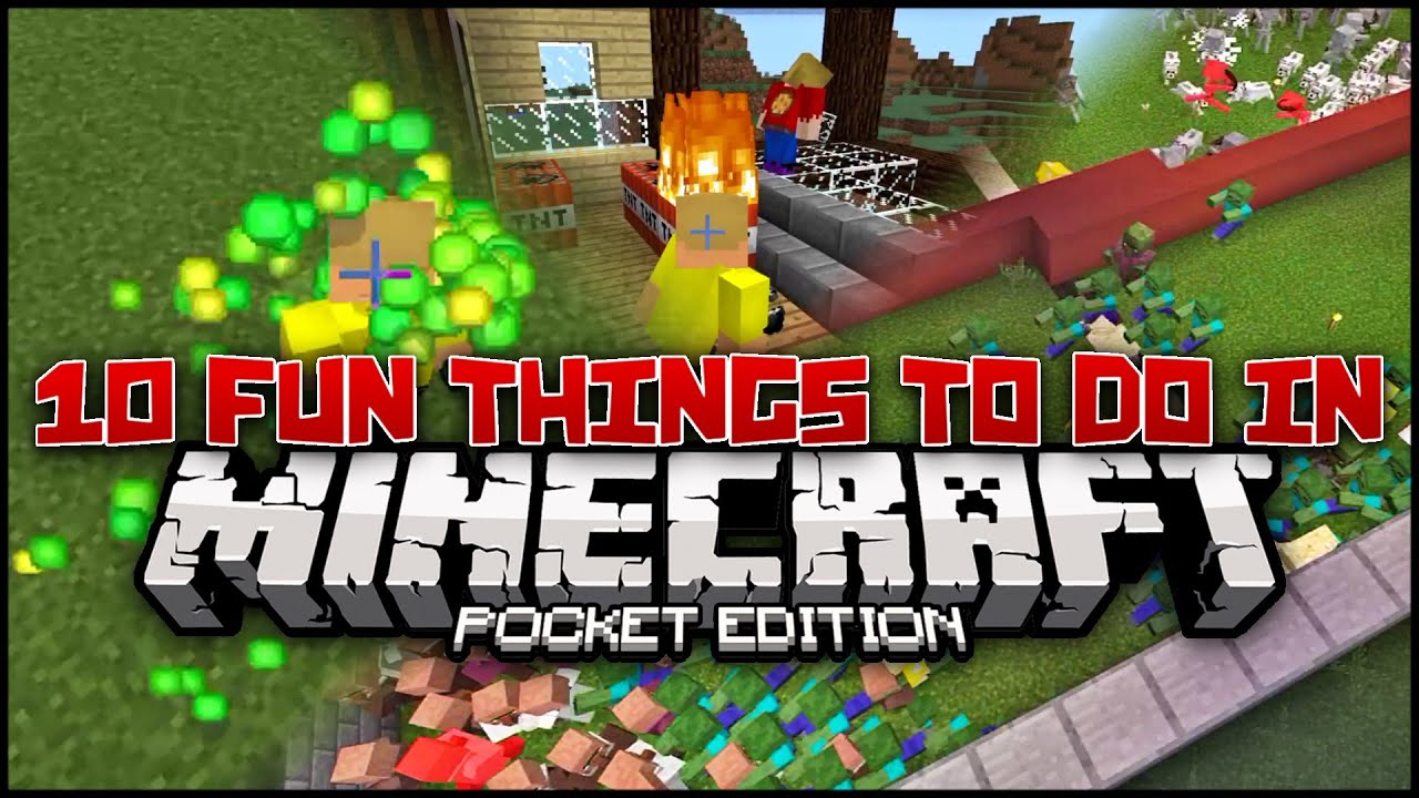 Top Ten Things To Do On Minecraft - TheTopTens®