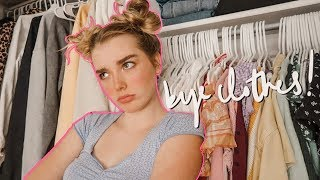 rebuilding my whole entire closet & wardrobe pt.1
