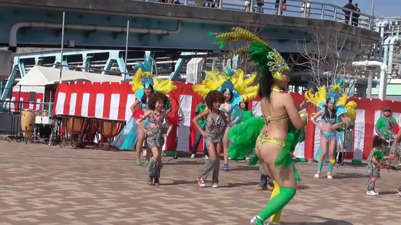 第14回アーモンド並木と春の音楽会 2016 Escola De Samba KOBECCO